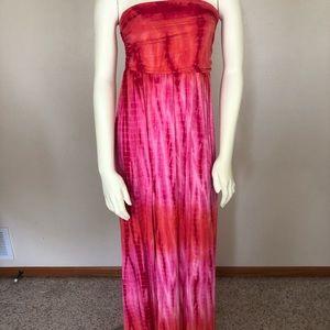 Boston Proper tie-dye Maxi dress | sz small